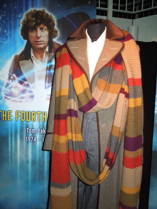 Tom Baker Dr Who | First through Fourth Doctor costumes from Doctor ...