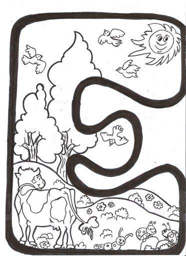 Letras Primavera Para Colorear Recursos escolares para | babies