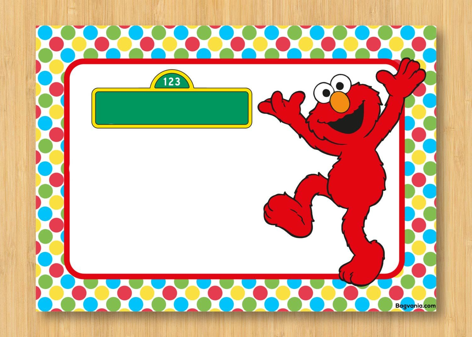 Download Free Printable Elmo Birthday Invitations | FREE Printable ...