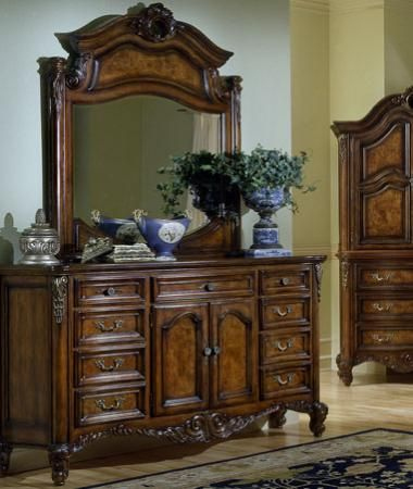 Fairmont designs repertoire collection dresser w dresser mirror home furnishings pinterest for Fairmont designs grand estates bedroom