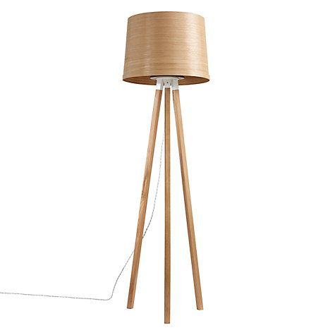 Tom Raffield Helix Floor Lamp Oak Lamp Floor Lamp Tom Raffield Helix