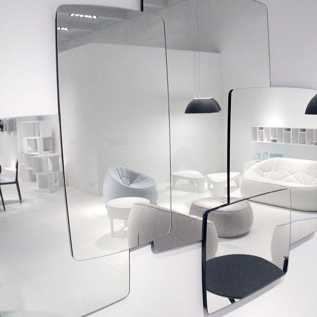 miroirs biscuit michael koenig cinna mobilier. Black Bedroom Furniture Sets. Home Design Ideas