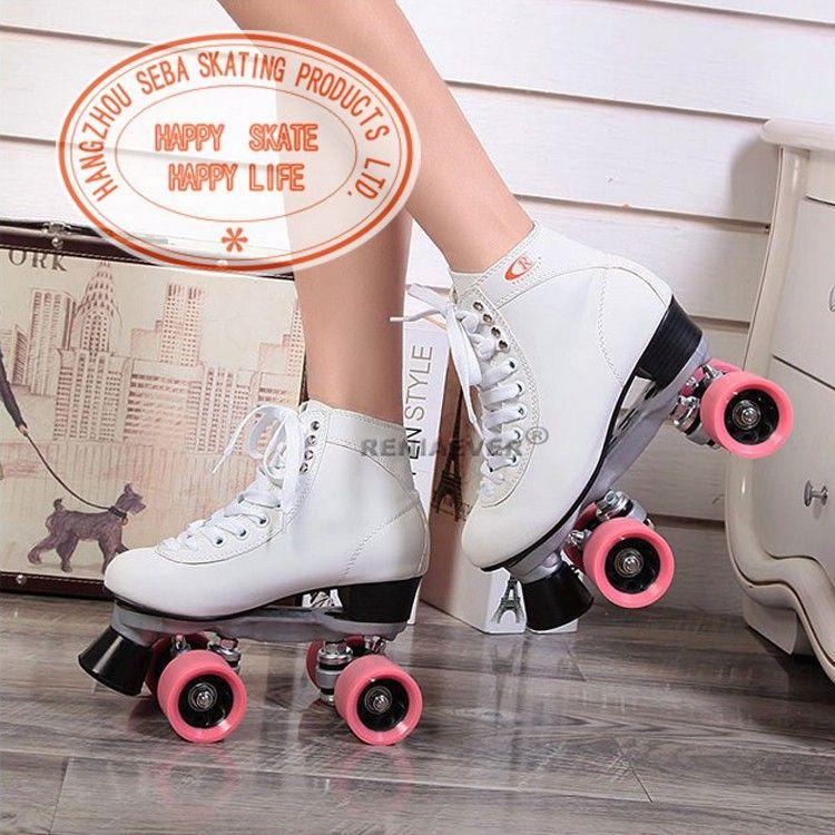 roller 4 roues blanc rose roller pinterest roller roue et roses. Black Bedroom Furniture Sets. Home Design Ideas