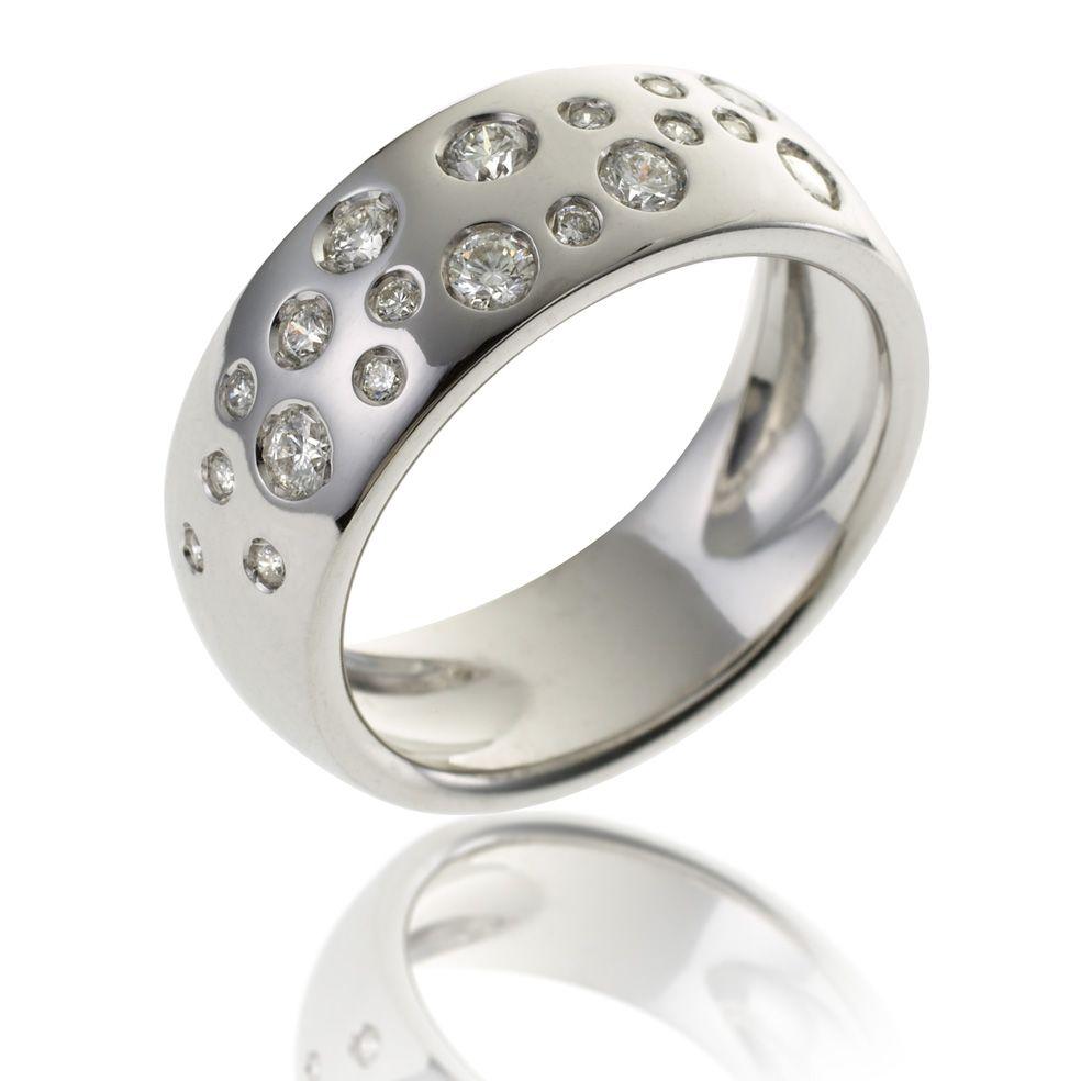 bague or gris manege a bijoux