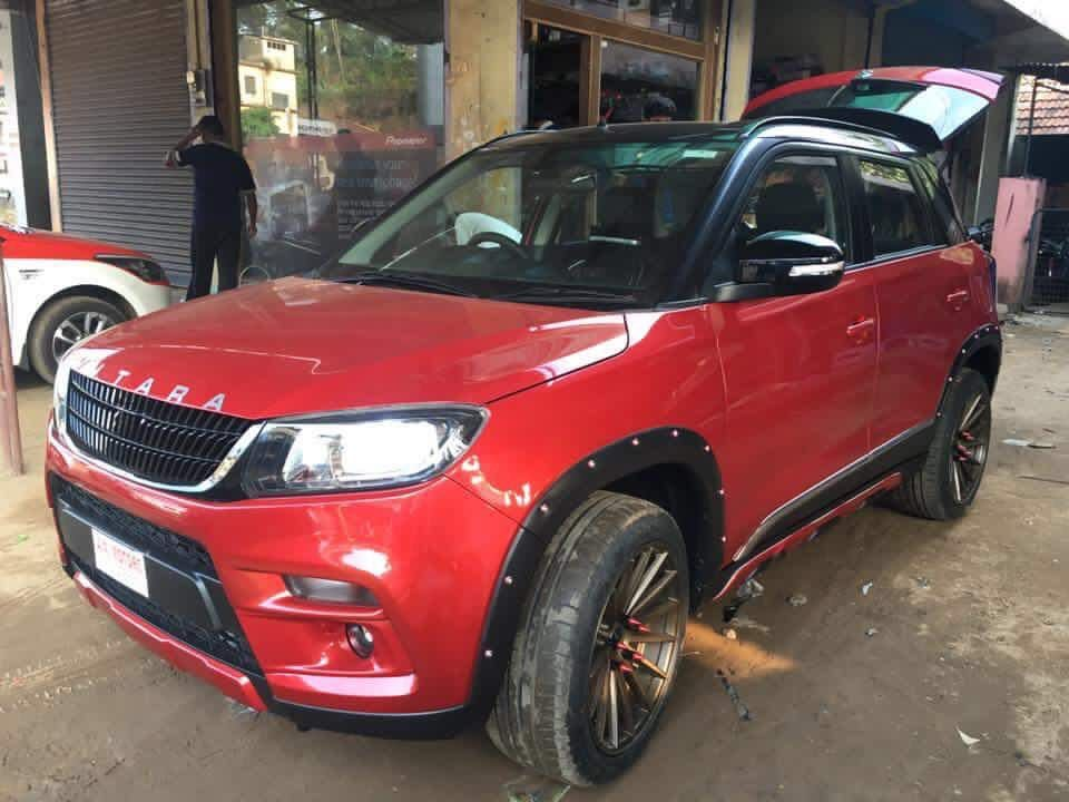 Customized Maruti Vitara Brezza In 8 Images Brezza Custom