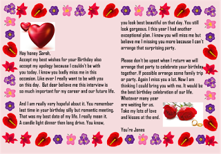 Sample birthday letters for girlfriend paragraph for her sample birthday letters for girlfriend ccuart Images