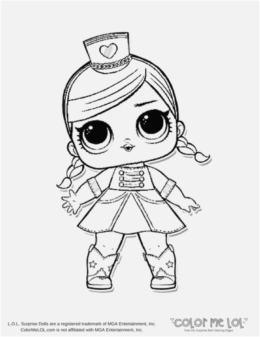 Coloring Pages Crazy Hair Best Free Printable Lol Surprise Gambar