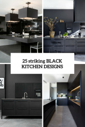 Black ikea kungsbacka kitchen of recycled timber for Cuisine kungsbacka ikea