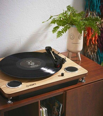 Platine Vinyle avec haut-parleurs intégrés - Ion