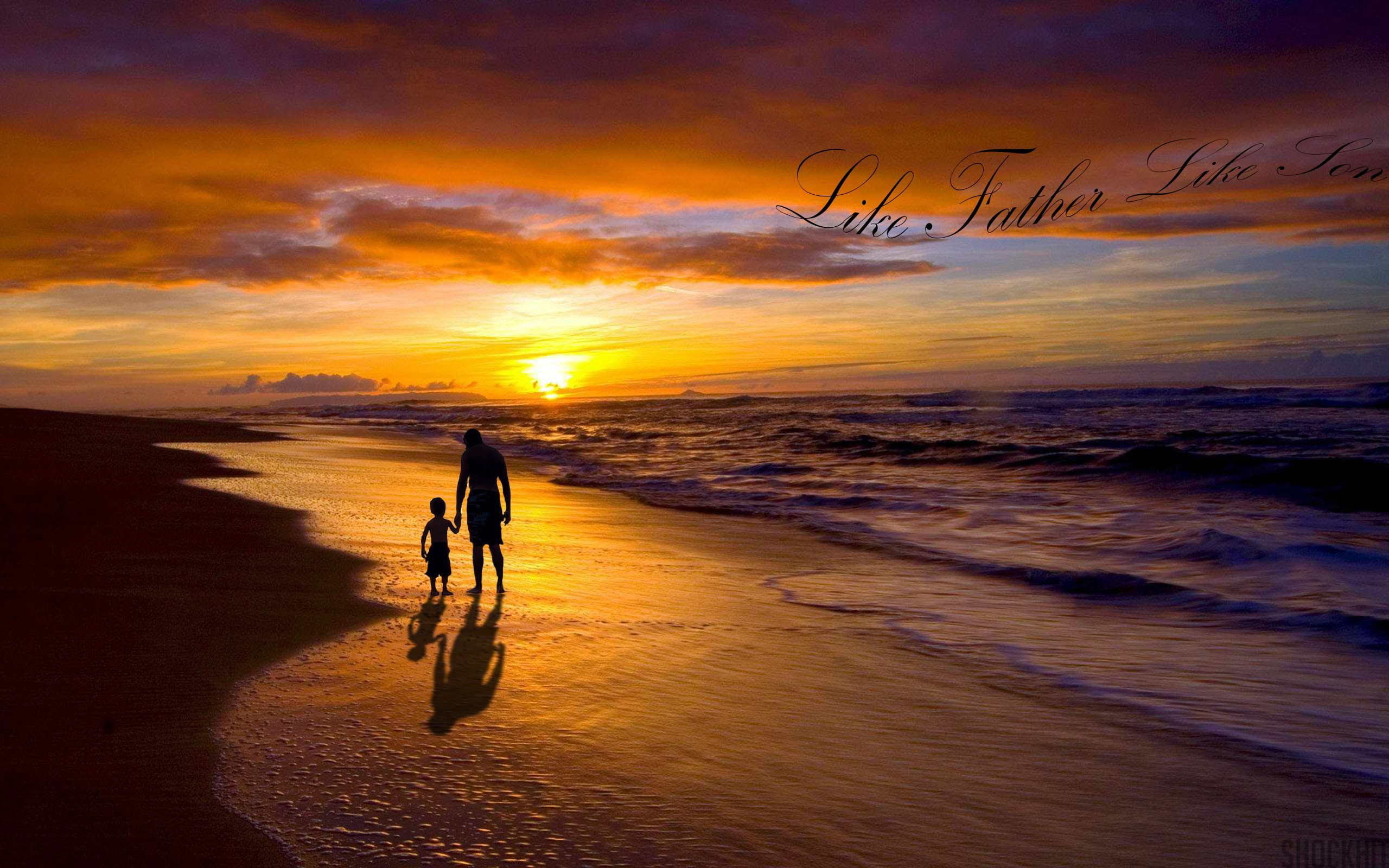 Father Son Desktop Background Wallpapers Hd Free 594795