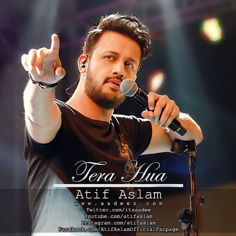 Thanks For Liking Tera Hua Love To The Family Beingsalmankhan Arpitakhansharma Wish You All The Luck For The Release Guys Aay Atif Aslam Tere Liye Songs