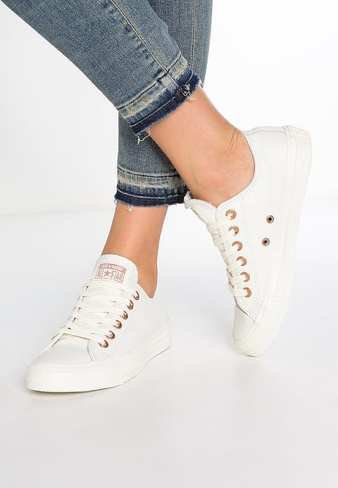 Converse CHUCK TAYLOR ALL STAR LEATHER - PASTELS - Sneakers - egret - Zalando.se