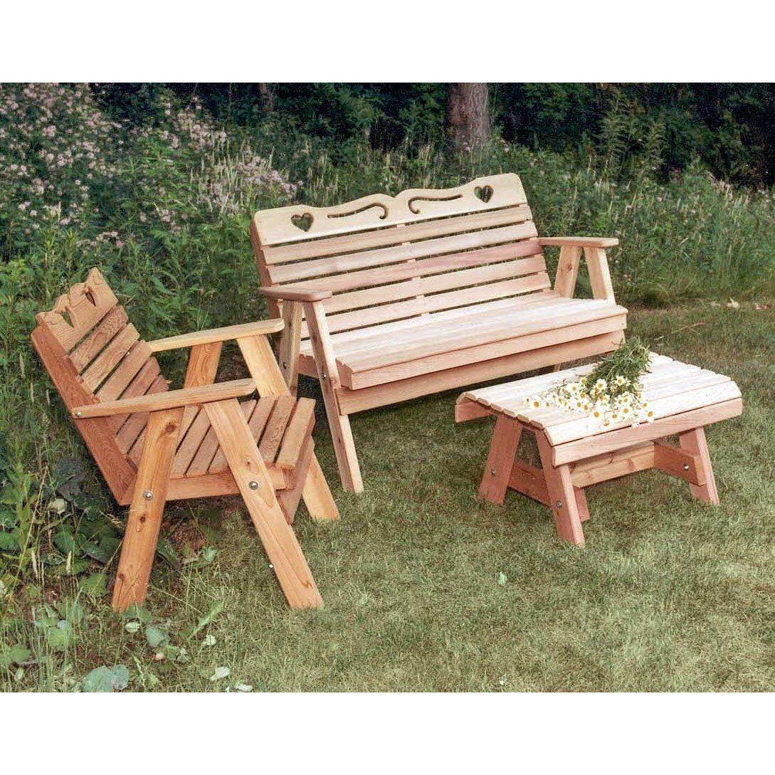 Creekvine Designs Cedar Country Hearts Furniture Collection