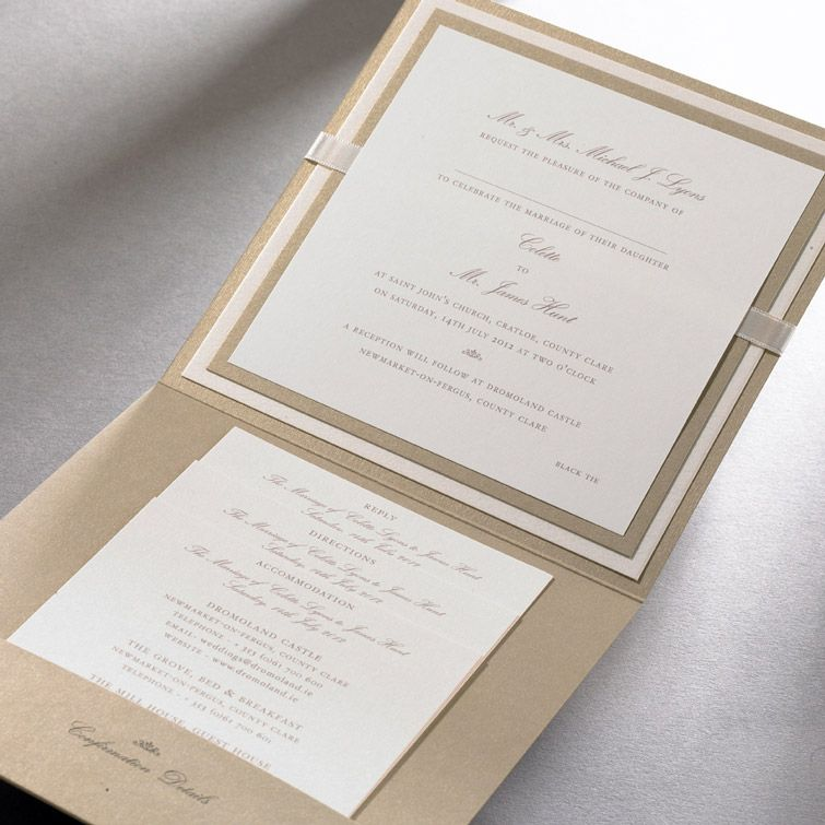 Wedding Invitations Ireland :: Finer Details :: Classic Wedding ...