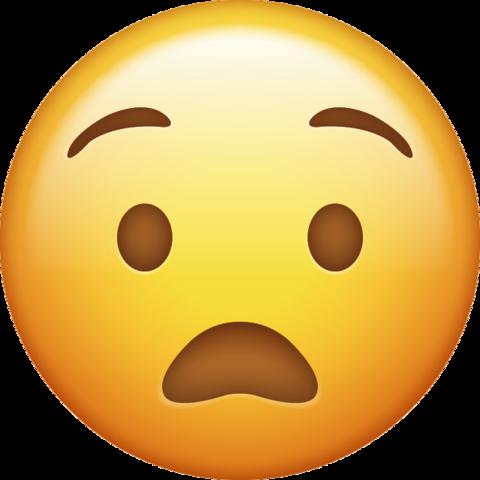 Anguished Emoji Download Ios Face Emojis Funny Emoji Faces Emoji Emoji Images