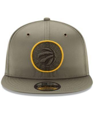 a4ed2f78d44 New Era Toronto Raptors Full Satin 9FIFTY Snapback Cap - Green Adjustable