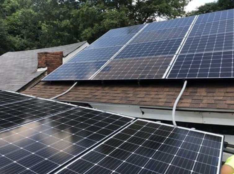 1 Solar Panels Absorb The Sun S Energy And Convert It To Dc Electricity 2 The Solar Inverter Converts Dc Electricity Fro Solar Panel Cost Solar Solar Panels