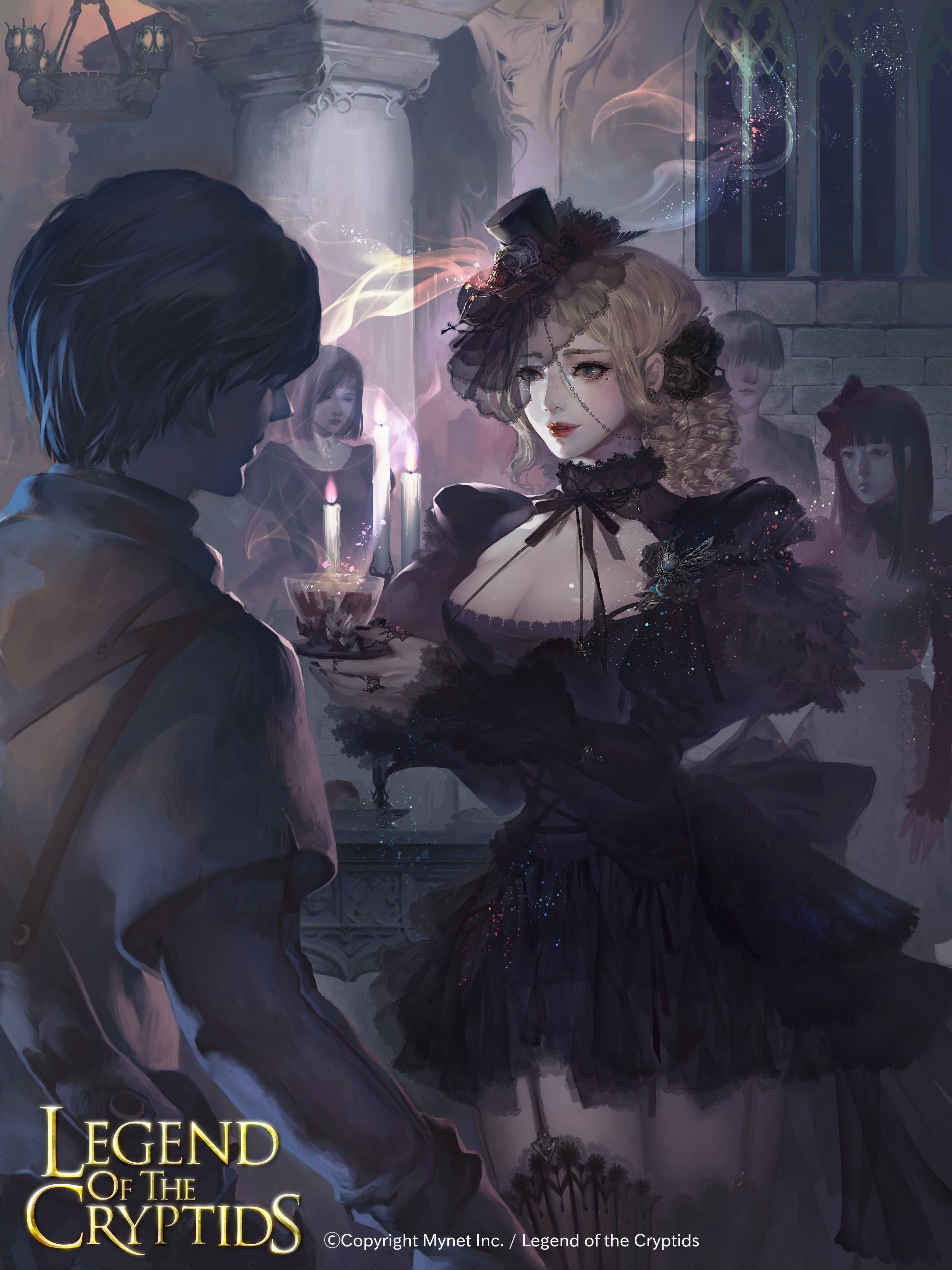 Artist: Unknown - Title: Unknown - Card: Gothic Hostess Helmina