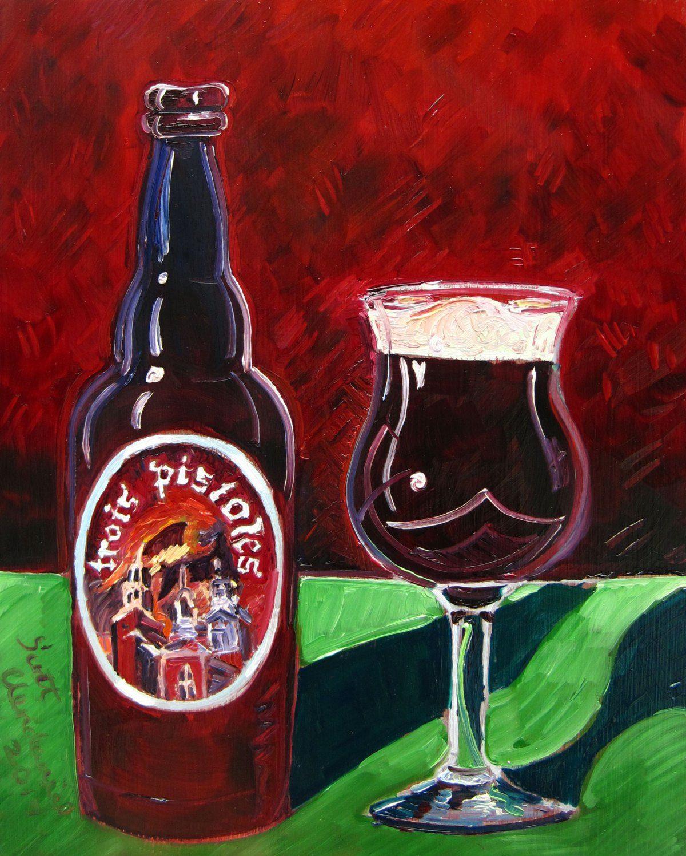Year Of Beer Paintings Day 102 Beer Painting