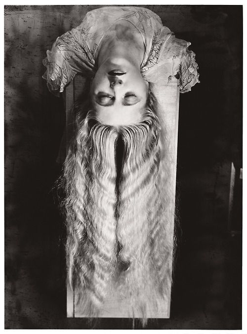 Man Ray - Woman with Long Hair, 1929