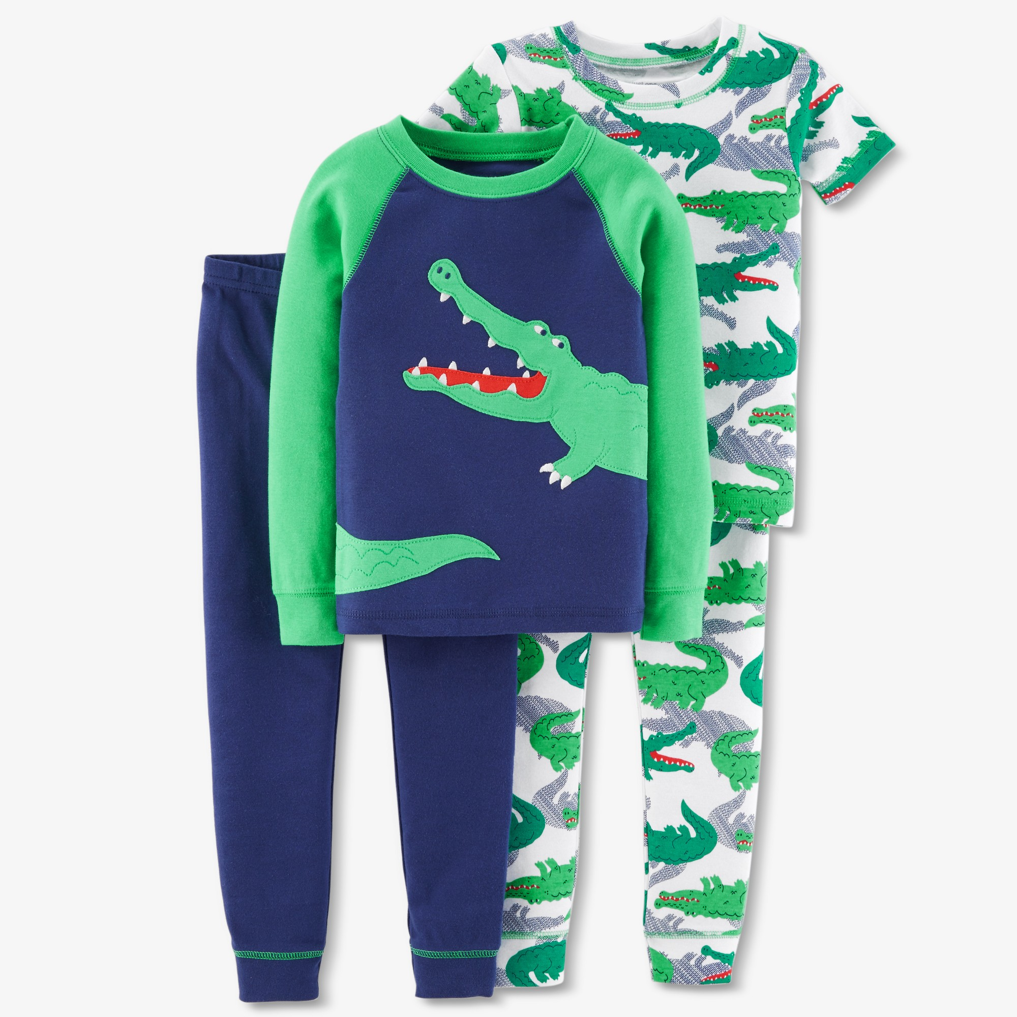 Just One You Toddler Boys Dino Coat Pajama Set 3T
