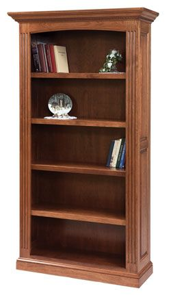 Amish Outlet Ellington Bookcase In Cherry