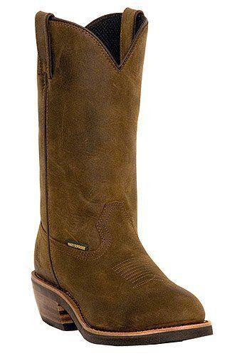 oil resistant cowboy boots