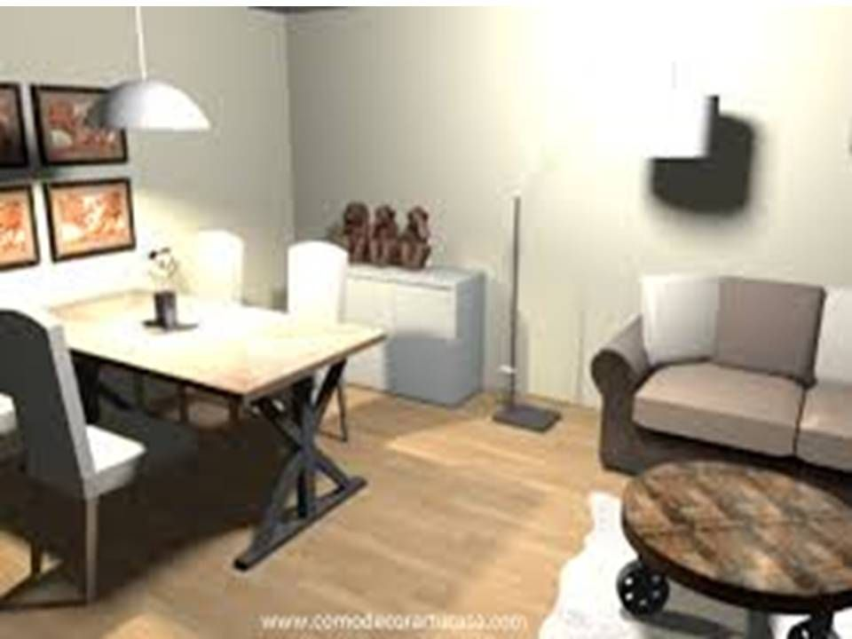Sala Comedor Pequeño Diseño : Pin de caro rangel en sala y comedor decoración de
