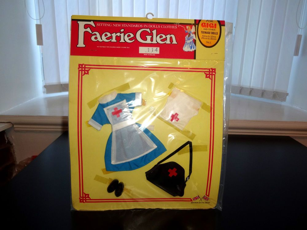Rare 1970 s Faerie Glen Sindy CAT 114 to fit 10 to 12