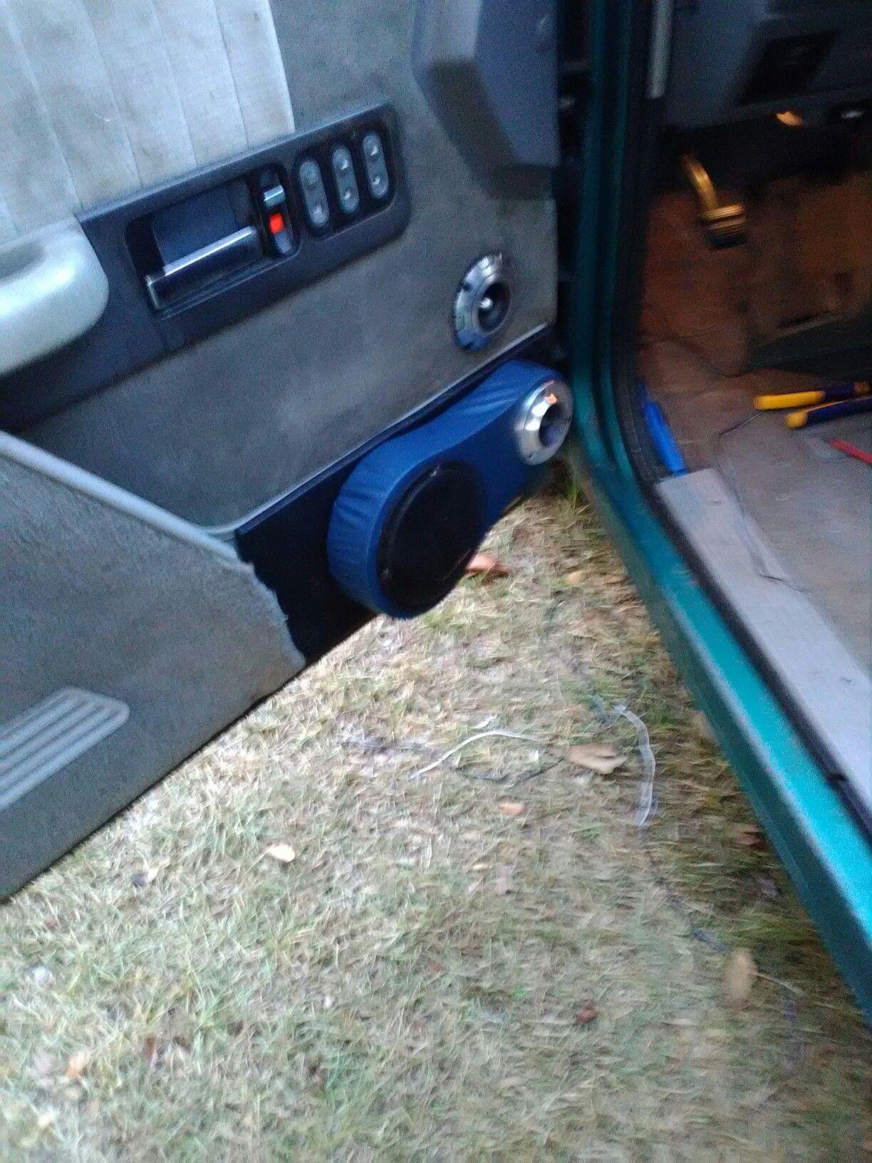 Door pods with precision power 5.25 and 2 autotek 1.75 tweeters in each door and there & Door pods with precision power 5.25 and 2 autotek 1.75 tweeters in ...