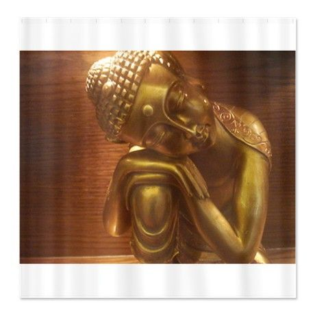 Sleeping Buddha Shower Curtain On Cafepress Com Shower Curtain