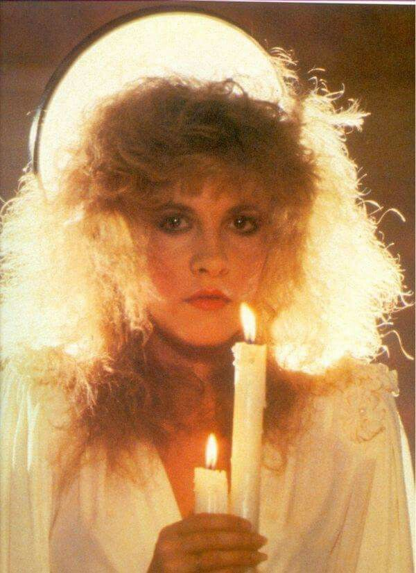 Stevie Nicks, she makes think of an angel