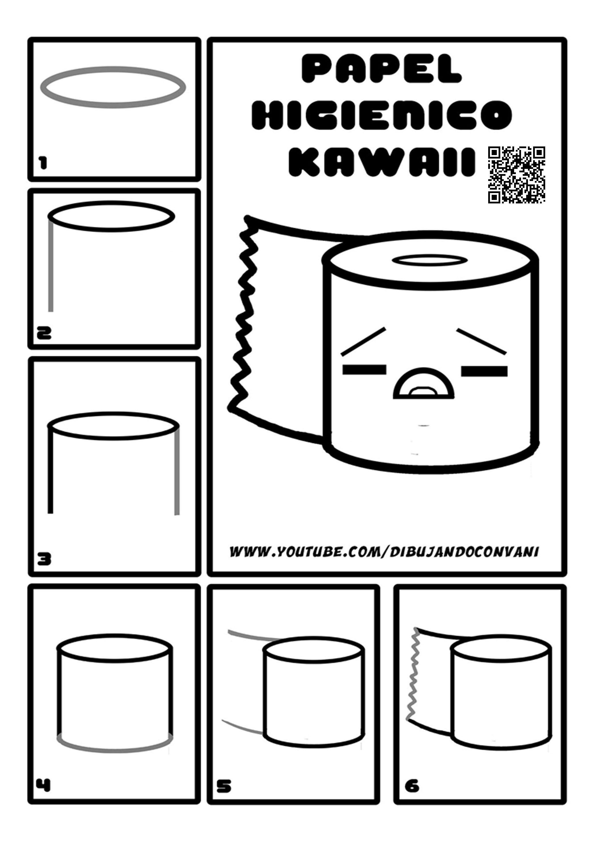 Pin En Como Dibujar Kawaii Paso A Paso