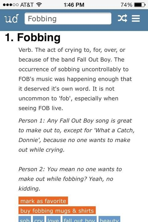 Urban Dictionary Gets It Hahahha This Is The Best Thing I Have Ever Read Fall Out Boy Emo Music My Chemical Romance