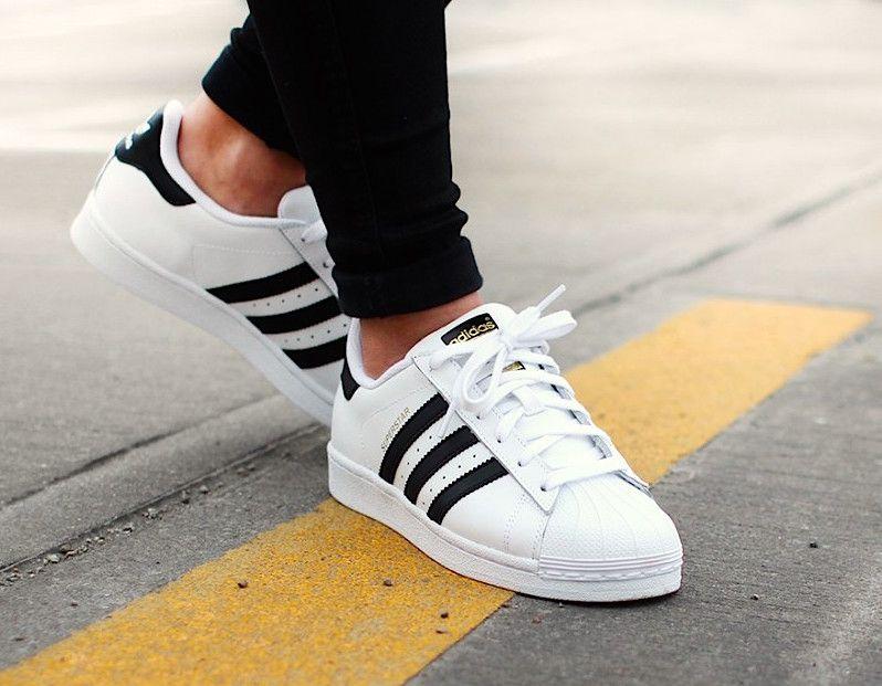6ef3ee48d77ff Adidas Superstar - Running White Core Black