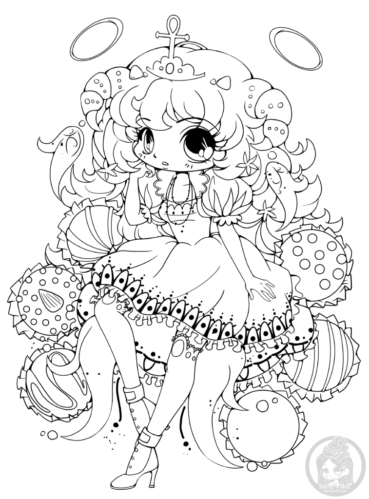 Coloriage manga chibi truffe par yampuff coloring pages chibi coloring pages coloring pages - Dessin colorier ...