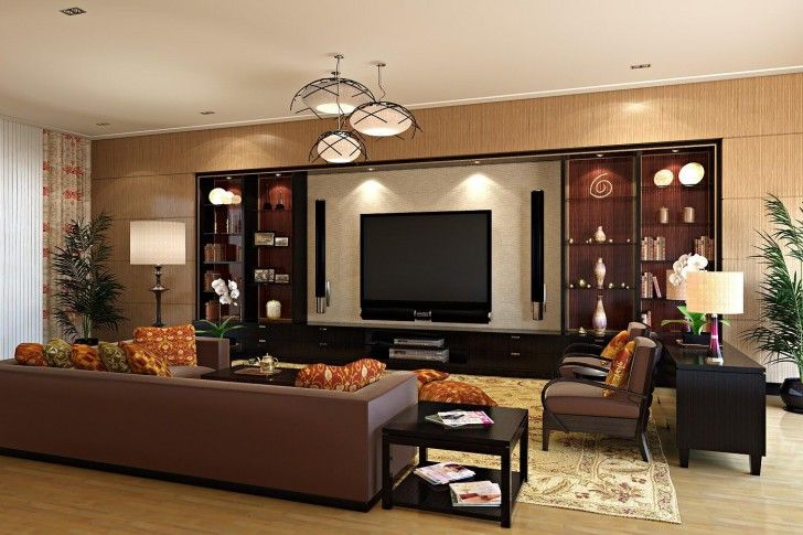 Stylish Living Room Interior Designs Modern Hanging Light Awesome Sofa Center Table