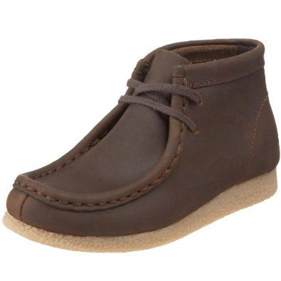 cb1eaa8d1b241 Amazon.com: Clarks Toddler/Little Kid Wallabee Ankle Boot: Shoes ...