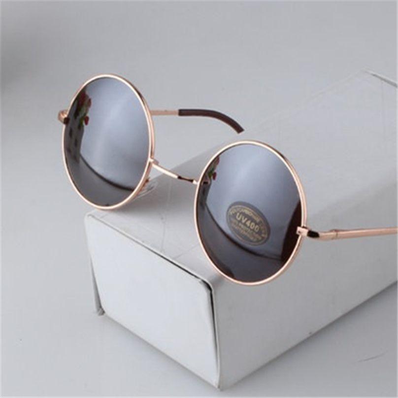d24697b2e9 Fashion Vintage Round Sunglasses For Women Men Brand Designer Mirrored  Glasses Retro Female Male Sun Glasses Men s Women s Pixel Just look