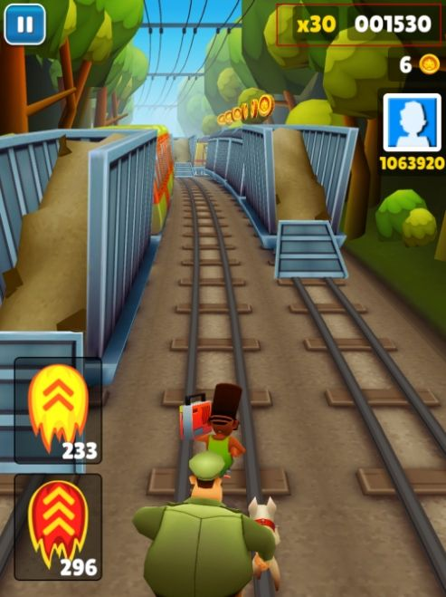 In addition, it is also a Subway Surfers Multiplier Hack, you're already at 30X Multiplier at the beginning of Subway Surfers Track.