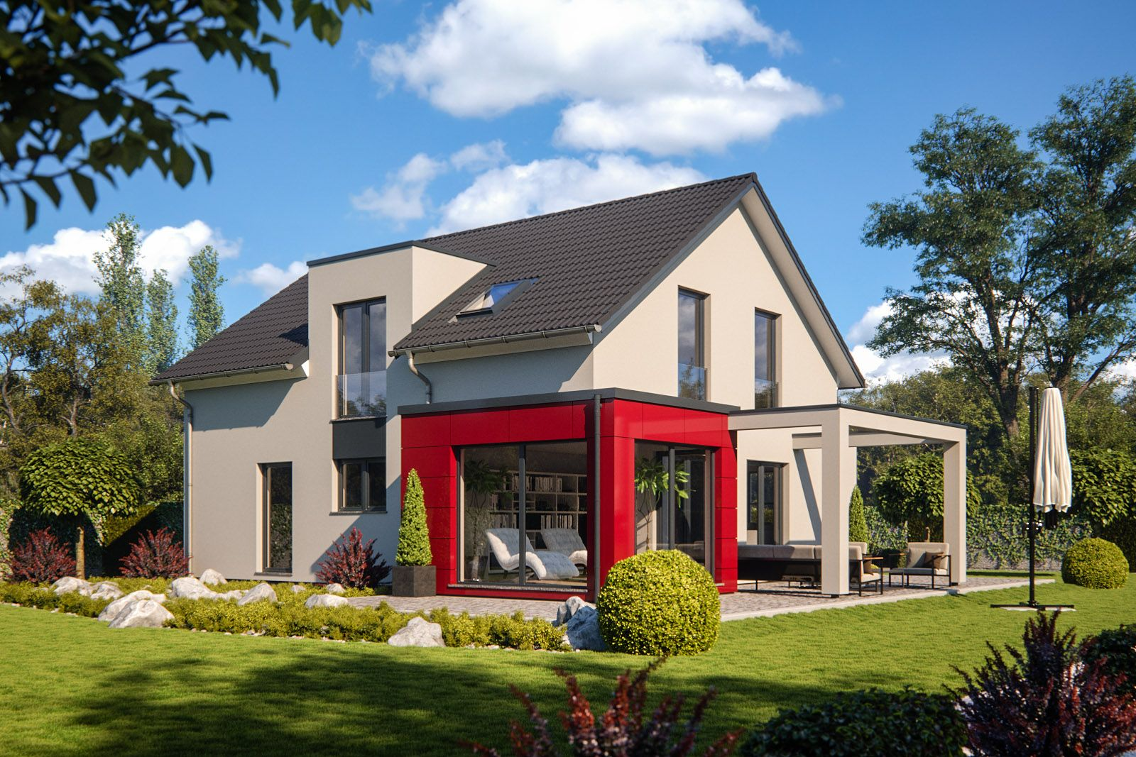"RENSCHHAUS GmbH Musterhaus ""Stockholm"" modern & perfekt"