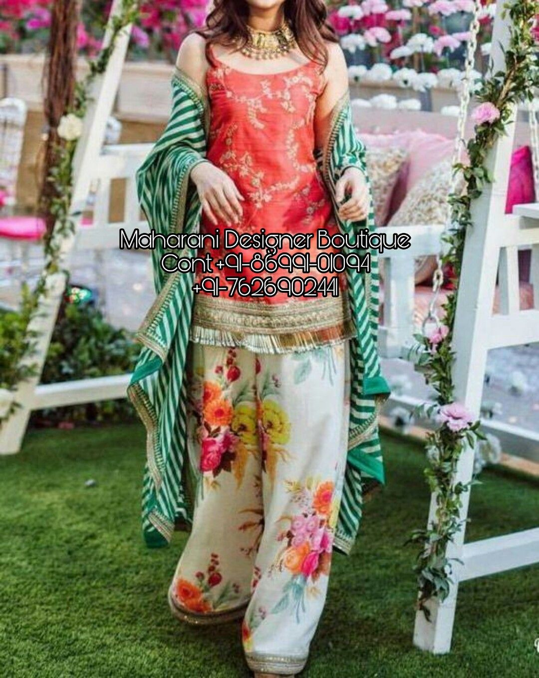 f6c60b373d 'Buy Kurta Palazzo Salwar Suits & Dresses at India's Best Online Shopping  Store. Check party wear palazzo suits