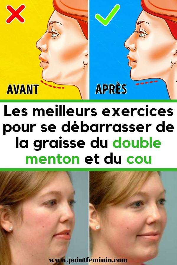 Comment maigrir du visage, affiner les joues et perdre du double monton rapidement ?