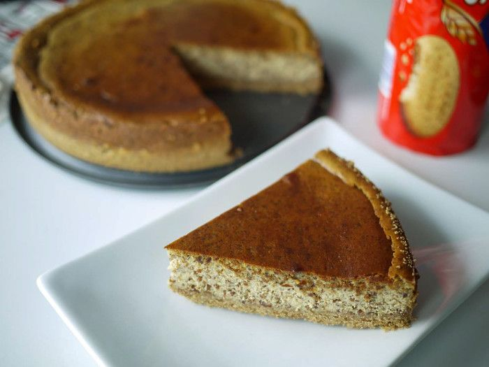 Baked almond cheesecake - epic recipe in pictures for USA for the World Cup of Food