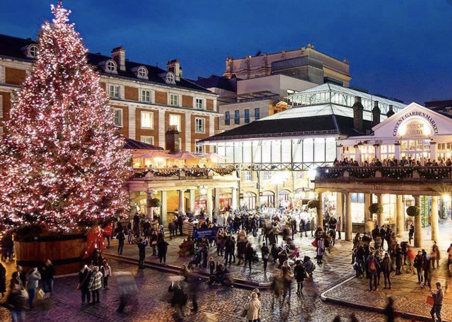 Christmas In London 2019 A Broad In London London Christmas Covent Garden Best Christmas Lights