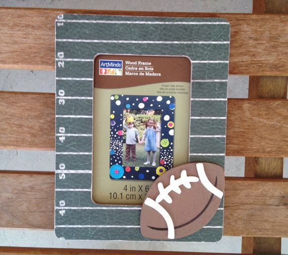 Football Picture Frame gifts coaches sports teams by LoveBBoutique