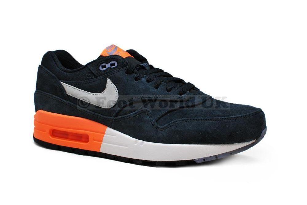 Men's Nike Air Max 1 Premium *RARE* 512033400 Dark