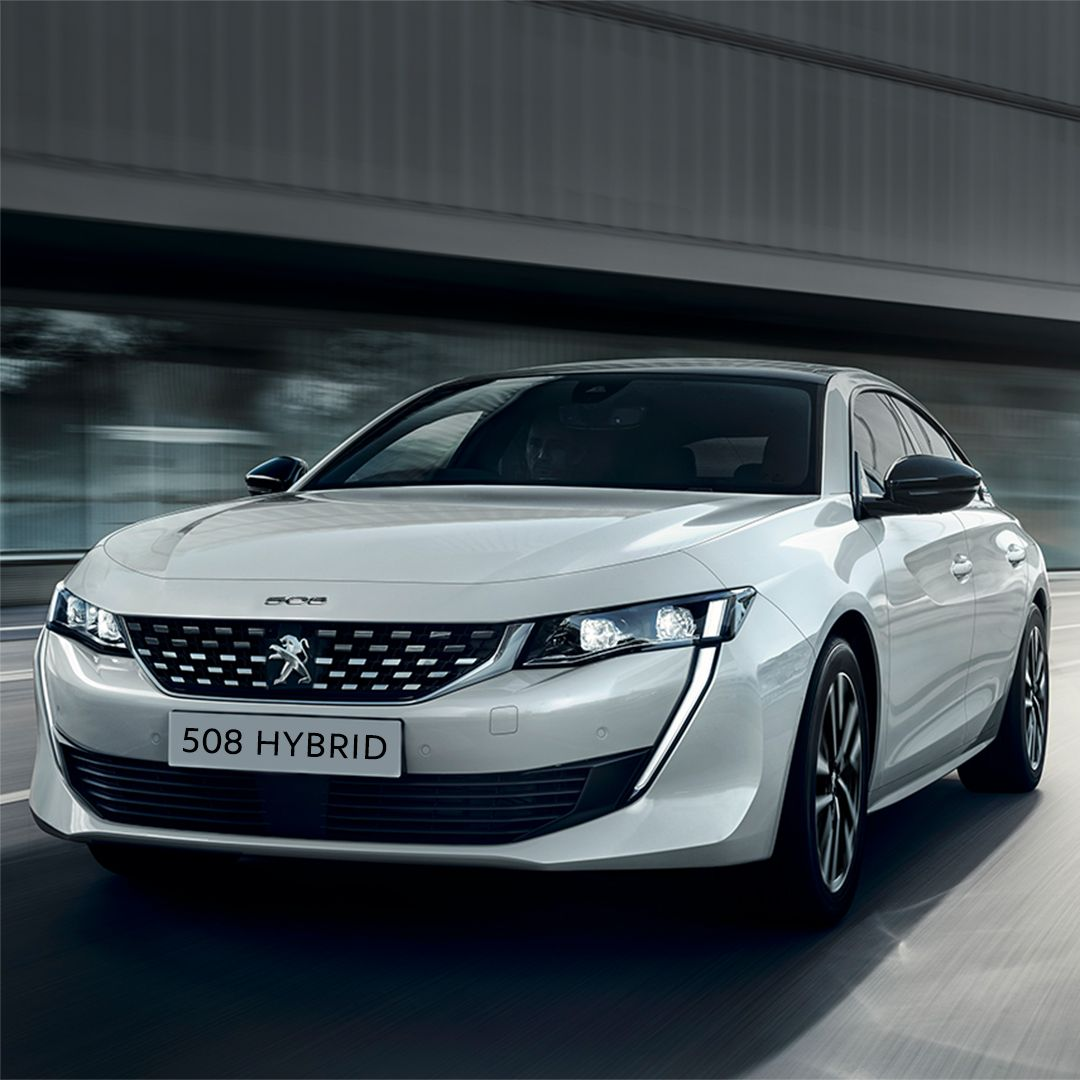 The striking allnew Peugeot 508, now available as a Plug