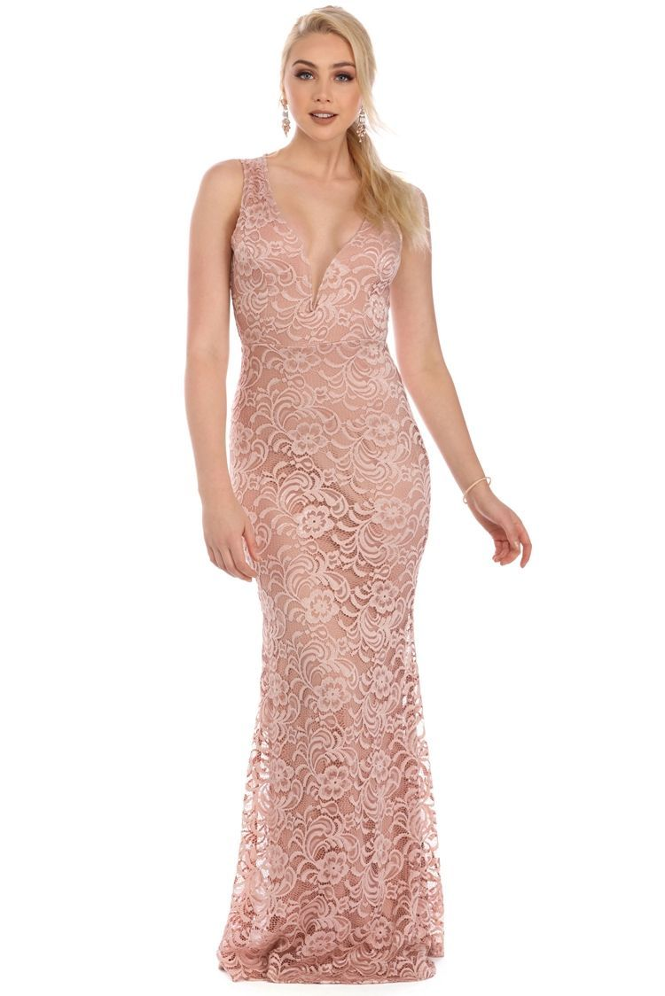 Felicia Natural Lace Formal Dress | PROM DRESSES | Pinterest