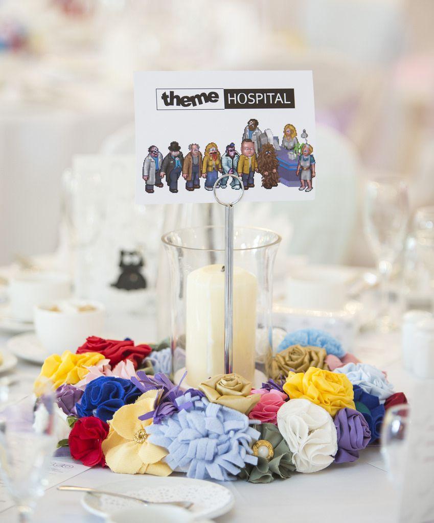 Sophie & James\' geeky pastel Welsh wedding | Welsh weddings, Wedding ...